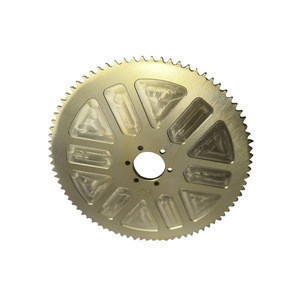 High quality customized cnc machining Sprocket parts for Mountain bike