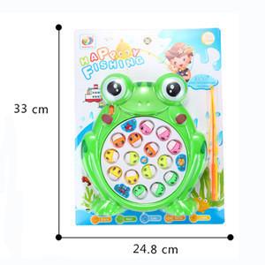 Hot Selling Mini Plastic fishing game toys set for kids