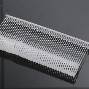 Hott Sell Standard 25-50mm Plastic Tag pins J Hook Fasteners for Standard Tagging Gun Fastener For Garment