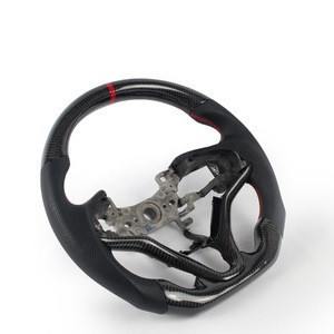 Joeyoung wholesale custom carbon fiber car steering wheel for all car models for honda fit steering wheel