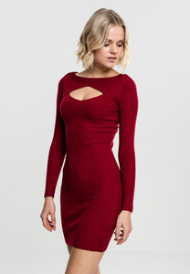 Ladies cut out dress
