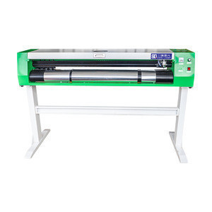 Laser machine cutting plotter with CCD contour function