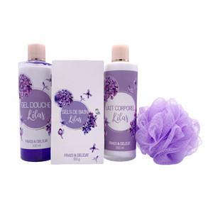 Lilac bath kit natural plant formula OEM/ODM