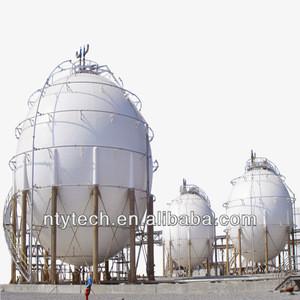 LPG Spherical Tank, Liquefied petroleum gas Tank based on ASME standard