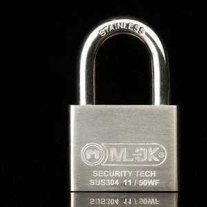 MOK wholesale locksmith supplies hight security key alike brass copper padlock locksmith