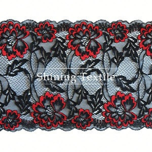 More Than 3000 Designs Nylon Spandex Cotton Lace Tops Women For Lingerie