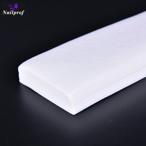 Nailprof  Disposable Nonwoven Depilatory Wax Strip For Hair Removal