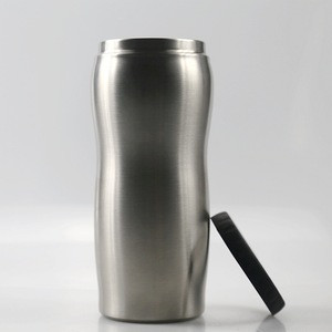 New Arrival Promotional slim 12 oz Double Wall Beer Soda Can holder Skinny Can Cooler