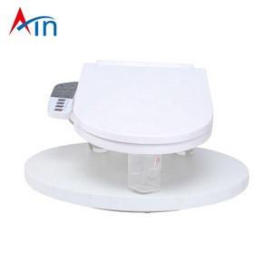 New smart high-tech heated toilet bidet toilet seat ring auto folding electric intelligent bathroom toilet warm seats with light