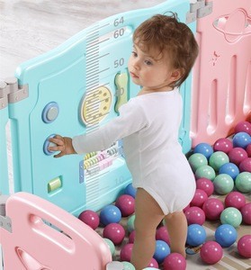 PE Baby play yard safety plastic fence plastic kids best baby playpen