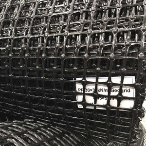 PP Biaxial HDPE Uniaxial Geogrid 30/30kn for Road Reinforcement