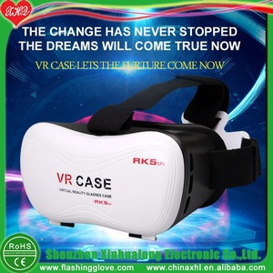 Professional vr 3d glasses Virtual Reality box vr headset virtual reality goggles