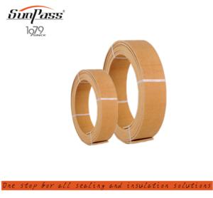 Resist Alkalis Industrial Wires Greater Fullness Well Handle Woven Resin Brake Lining Roll