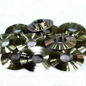 Titanium valve spring retainer retainer customized for engin parts
