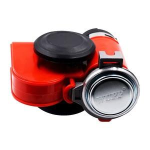 Universal red 12v car truck motor security compressor air loud horn