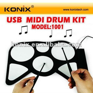 USB roll up Drum kit for usb gadget