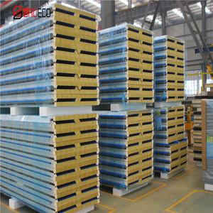 Wholesale High Quality Insulation & Heat Insulation Rockwool Sandwich Panel/Board