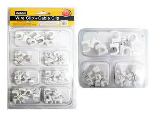 WIRE CLIP+CABLE CLIP 80GM, #16807