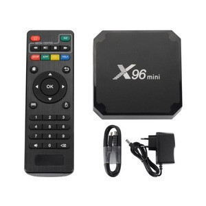 X96 Mini Android 7.1 TV BOX 1GB 8GB AMLOGIC S905W QUAD CORE SUPPORT 2.4G WIFI H.265 X96MINI MEDIA PLAYER