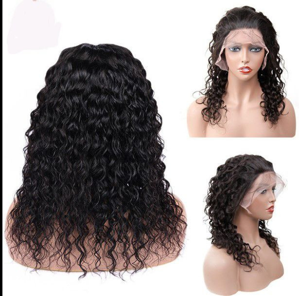 """Lace frontal (13""""x 4"""" ) human hair wig"""