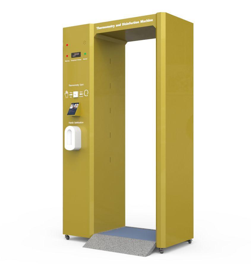 Hot Sale Disinfectant Body Temperature Measurement Machine