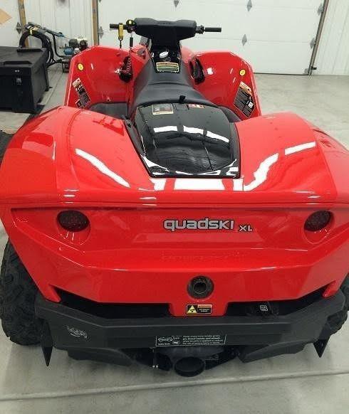 Gibbs Sports Amphibians Quadski XL 140 Hp on Water 4-stroke in-line 4 cylinder