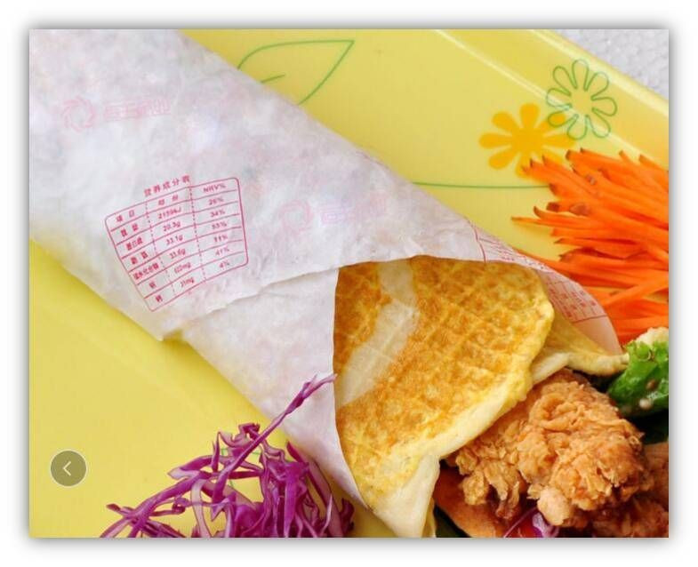 Food Wrapping Packaging Paper/Oil Proof/Water Resistent/Humbergur Paper/Rice Wrapping Paper/Biodegradable Paper
