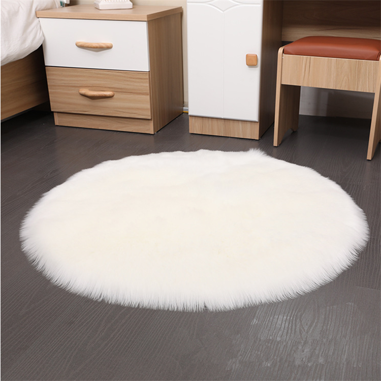 Hot selling high quality faux fur rug carpet