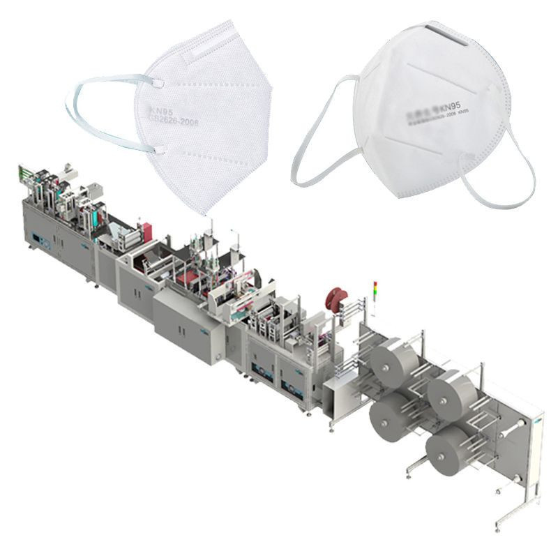Custom Design Full Automatic N95 Face Mask Making Machine Manufacturer in China