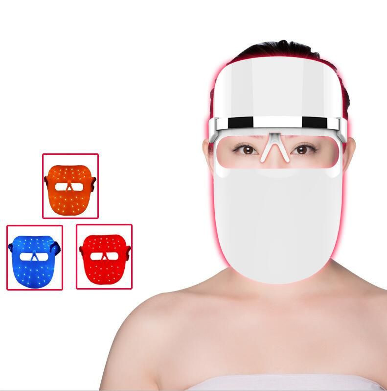 Wrinkle Removal Skin Rejuvenation skin care anti aging led light therapy Mask