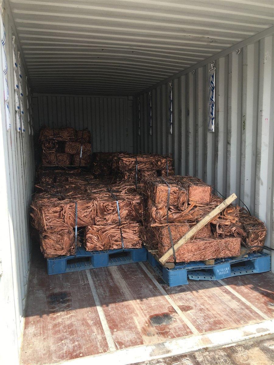 Copper Wire Scrap and Copper Cathodes