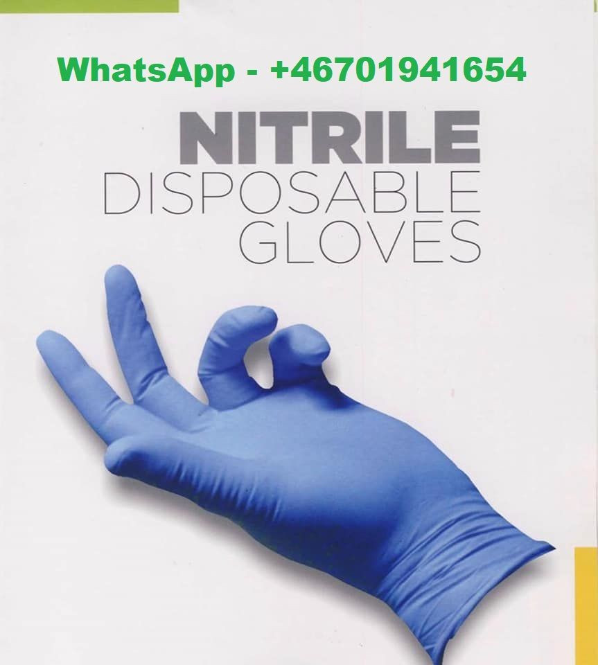 Blue Nitrile Powder-Free Gloves Disposable