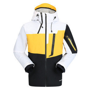 100% Nylon Outwear Apparel Men Ski Jacket Best Quality Fashion Ski Jacket For Cold Winter Clothing
