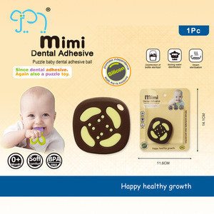 2019 New Baby Teether Silicone Sandwich Biscuits For Kids