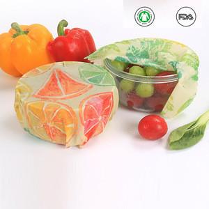 2020 Hot Custom Organic Bees Wax Wraps Bee Wax Paper Eco Reusable Beeswax Food Wrap