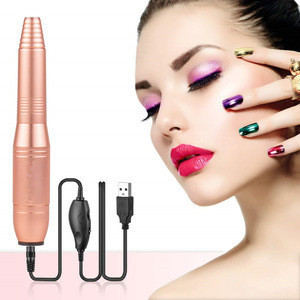 2020 Professional  Portable Electric Acrylic Nail Gel Polish Kit Manicure Pedicure Drills Bit Electric Nail Drill for Nails Gel