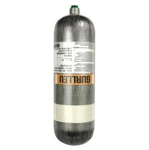 4500psi 6.8L high pressure DOT certified carbon fiber tank scuba scba composite cylinder