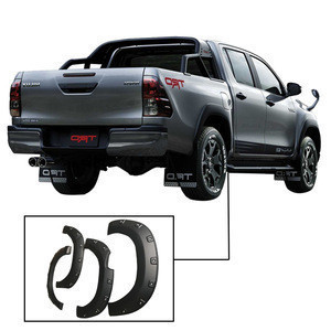 4x4 pick up car accessories abs fender flares universal wheel arch flares for hilux re vo 2015-2018
