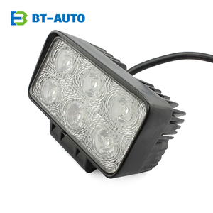 Car Accessories Auto Pats IP67 Rectabgle 2 Rows Bar LED Work Light 18w