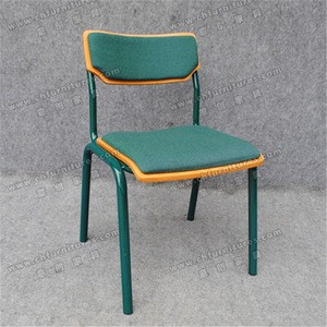 Cheap Price for Student chair and table , green Frame Chairs and Tables of School Furniture YC-SC02