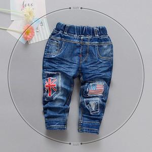 Children fashion jeans jeans bordados bolsillos traseros jeans+en+turquie