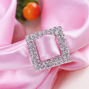 China Manufacturer Jerl Wholesale Fancy Rhinestone Buckles for Wedding Invitation/Belt/Dress/Shoes
