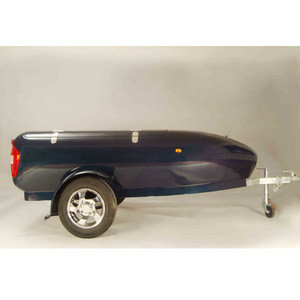 Customized fire resistant fiberglass motorcycle trailers shell for sale