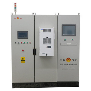 Digital medium frequency induction  bolts hot forging machine