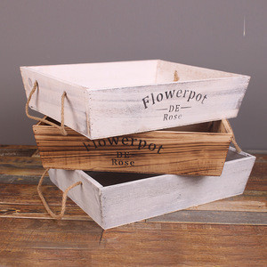 Factory professional custom  Antique Cheap Wooden Crates for Sale