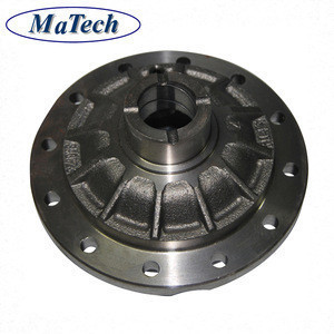Foundry Custom Metal Differential Case Ductile Casting Iron
