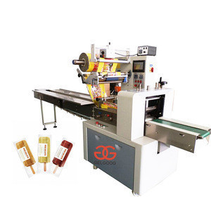 Gelgoog Automatic Granola Bar Packaging Popsicle Packing Machine