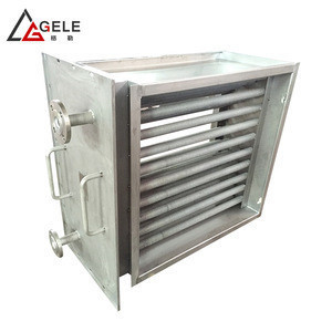 Heater cooling plant CS tubular with brazing aluminum fin radiator used for timber factory