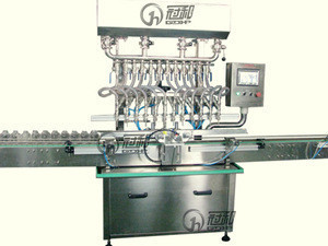High quality automatic water liquid 6 head Gravity Filling Machinery