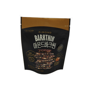 High Quality Cool Packaging Barkthin Snack Biscuit Sweet Almond Chocolate in Korea